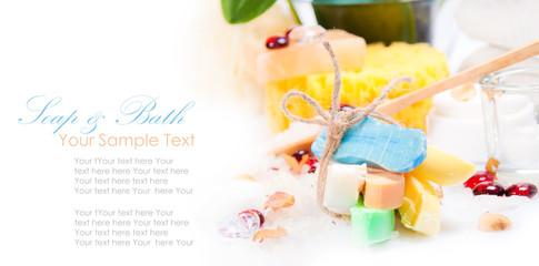 Spa and bath accessories