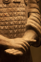 Terracotta warrior hands, China