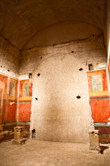 Wall Mural - Inside Casa di Augusto in palatine hill at Rome
