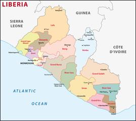 Liberia Administrativ