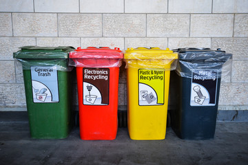 Colorful recycle