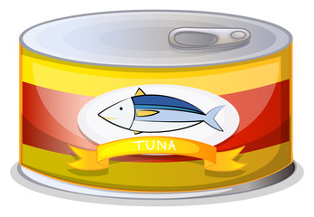 A can of tuna