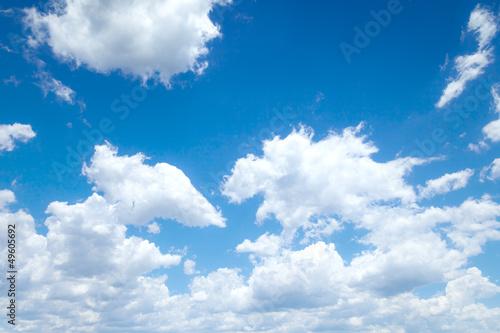 Wall mural blue sky