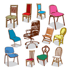 Illustration of Chairs