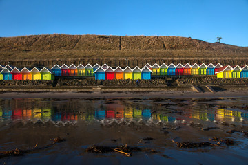 Fototapete - North Bay seafront