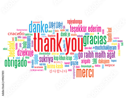 thank you tag cloud a lot thanks gratitude message