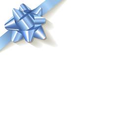 Geschenk Schleife Schmuckband blau