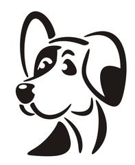 Dog Logo Symbol