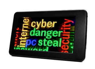 Syber danger concept