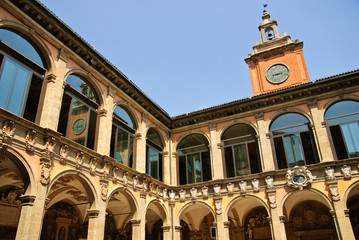 Ancient University of Bologna - main courtyard