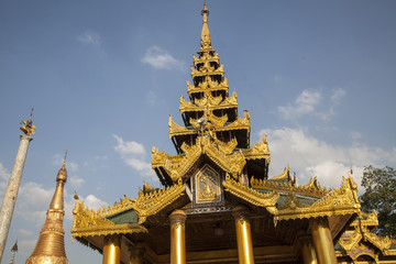 Myanmar, Temple of Golden Buddha