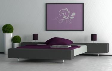 Schlafzimmer Brombeere