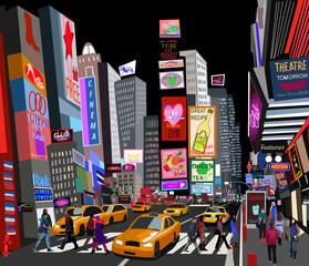 Printed roller blinds Art Studio street in New York city