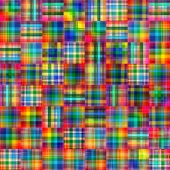 Abstract checkered tiles mozaic geometric pattern background