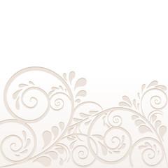 Hintergrund aus Ornamenten in beige
