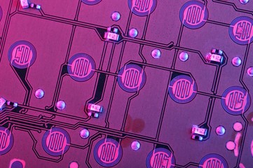 Purple Circuit Board