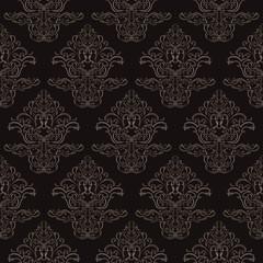 Luxury black seamless wallpaper.