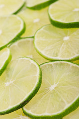 limes on background
