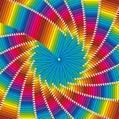 Fond Spirale Crayons