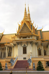 Throne Hall, Royal Palace complex, Phnom Penh, Cambodia