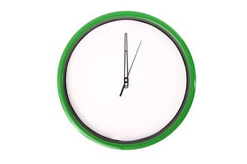 Empty clock serie - 12 o'clock.