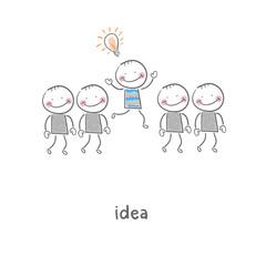 Idea. Illustration.
