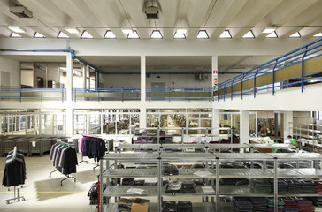 interior clothing factory