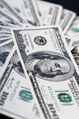 dollari come sfondo