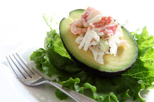 Seafood Stuffed Avocado
