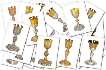 collage whit chalice images