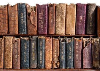 Door stickers Library Row of Antique Books