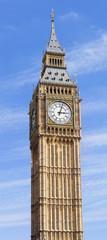 Big Ben against Summer Sky