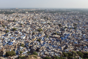 Blue city - Jodhpur in Rajasthan, India