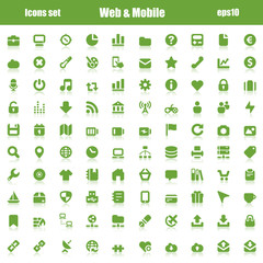 web mobile green reflex