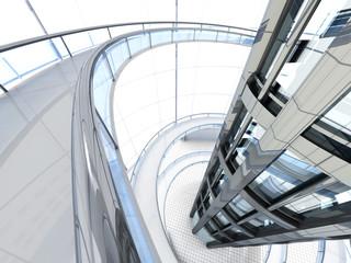 Futuristische Architektur