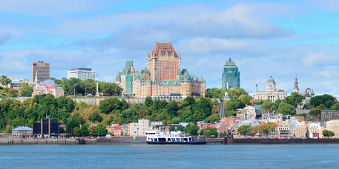Wall Mural - Quebec City skyline