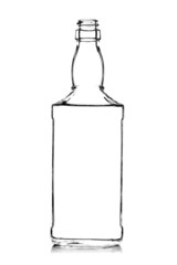 alcohol bottle contour