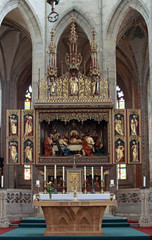 Iconostasis in Saint Barbara cathedral
