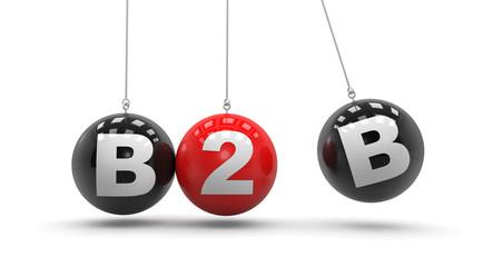 Fototapeta B2B - Business to Business obraz