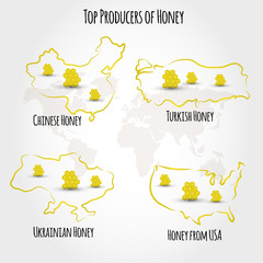honey producting countries
