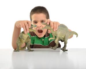 Playing Dino Crash