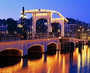 Magere Brug, Amsterdam, Holland © Arena Photo UK