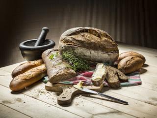 Fototapeta Świeży chleb tradycyjny obraz