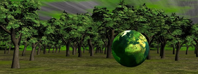 Save the earth and nature