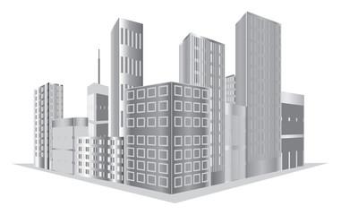 Buildings vector