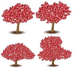 Fototapeta Tree of heart obraz