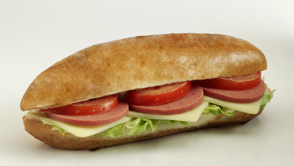 salamlı sandviç