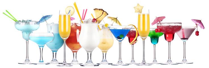 alcoholic cocktail set
