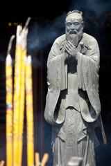 Konfuzius tempel in Shanghai