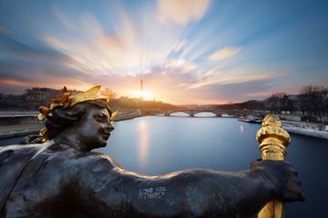 Wall Mural - Paris pont Alexandre III, Paris